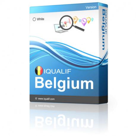 IQUALIF Belgium White, the individuals